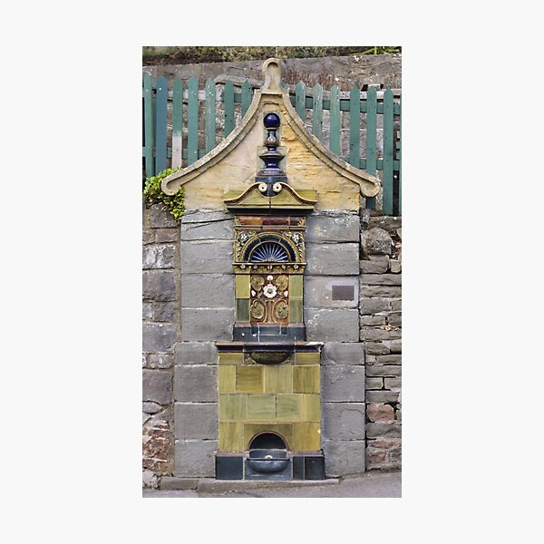Victorian Water Fountain Photographic Print