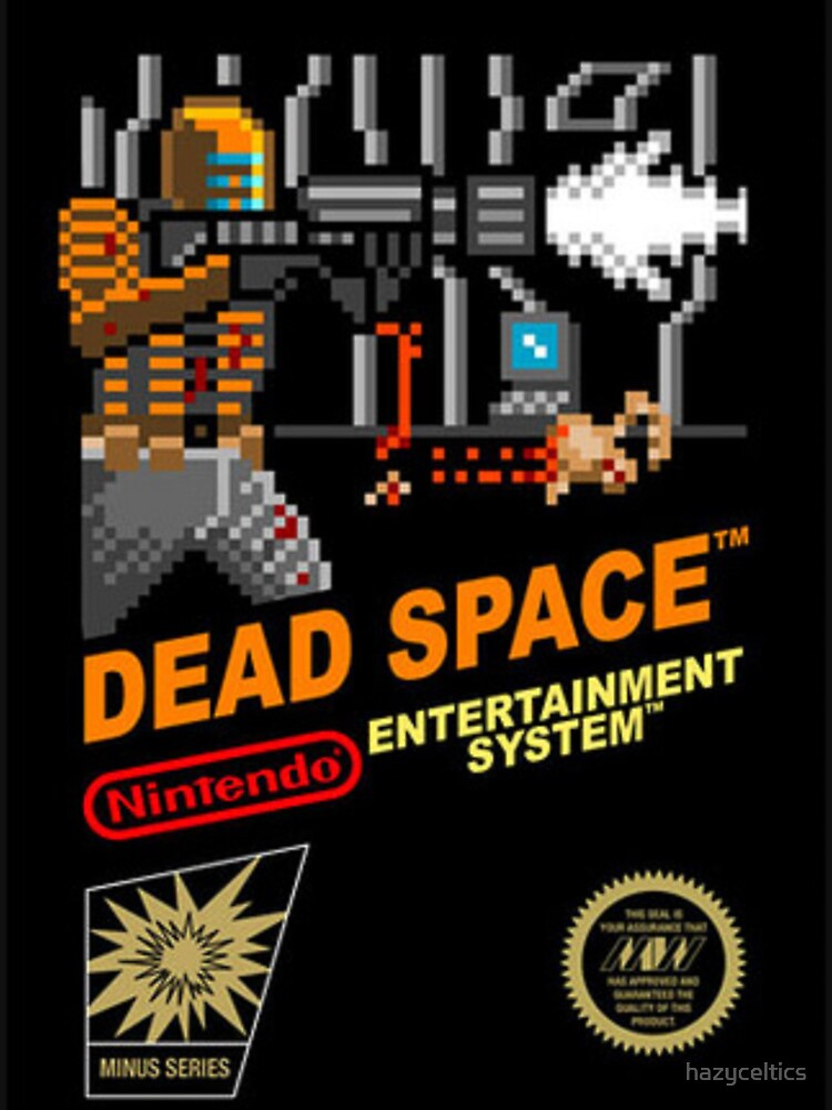 dead space nes cover art | Unisex T-Shirt