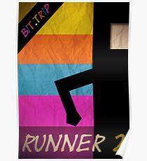 Minimalist Runner 2 Poster