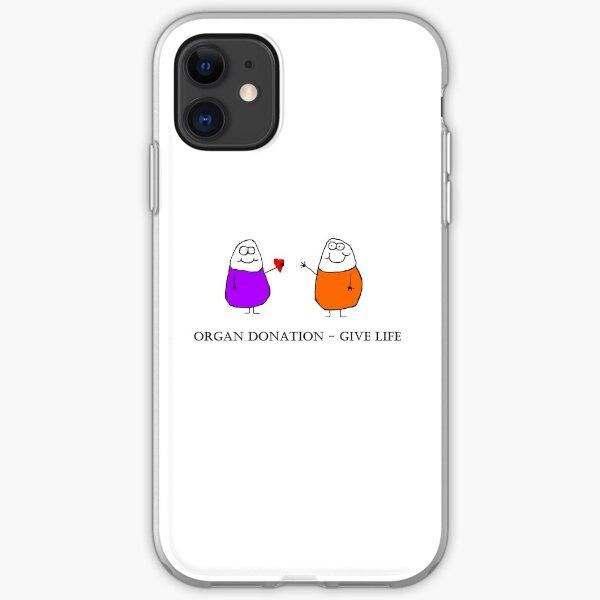 Donate Organs iPhone Soft Case