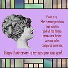 Happy Anniversary to my Most Precious Gem by aprilann