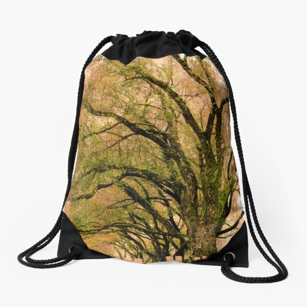 contain the unknown  Drawstring Bag