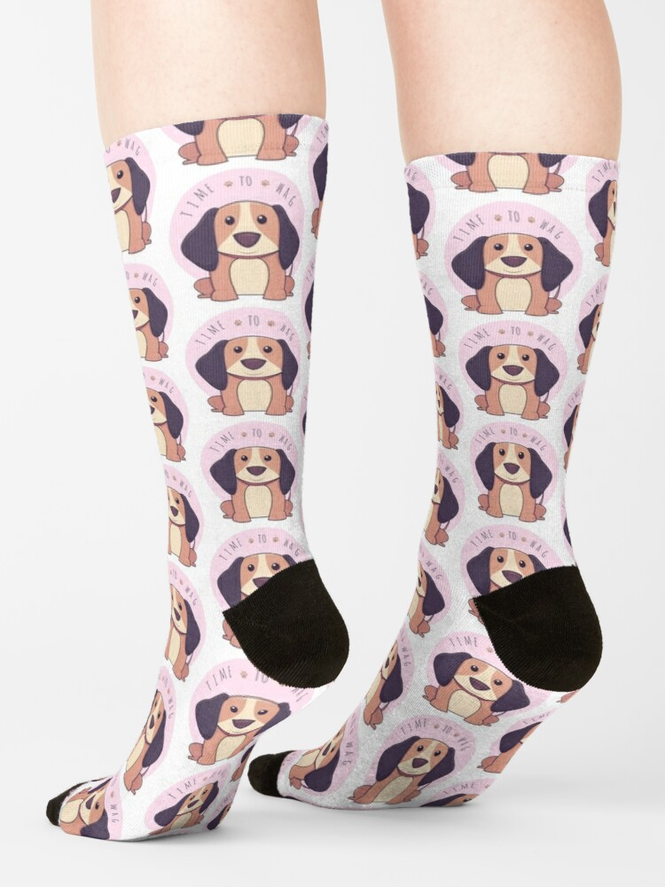 Alternate view of TIME TO WAG Socks