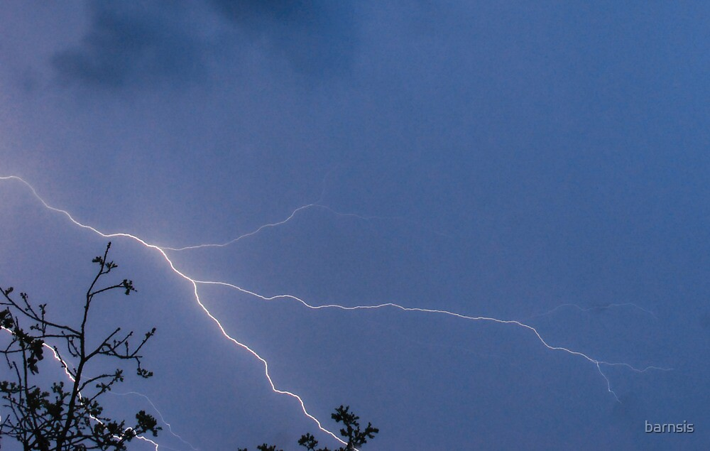 Winter Thunderstorm ~ March 2/2014 by barnsis