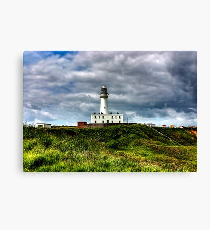 Flamborough Head Lighthouse Canvas Print