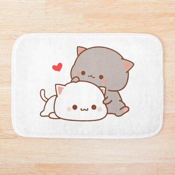 cute cats Bath Mat