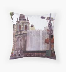 97th street city scape  Throw Pillow