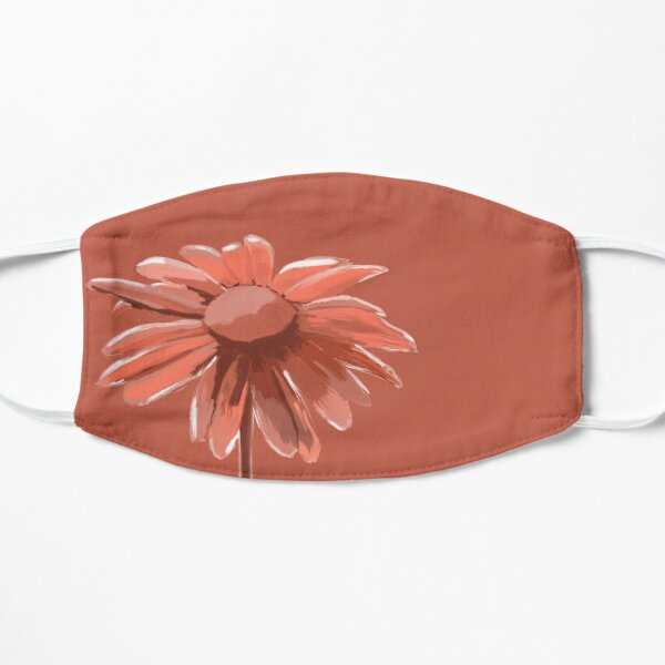 Red Daisy Mask