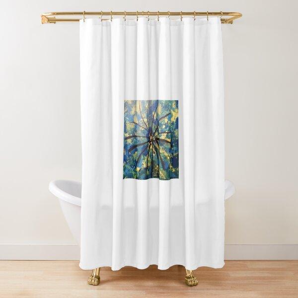 Starburst Shower Curtain