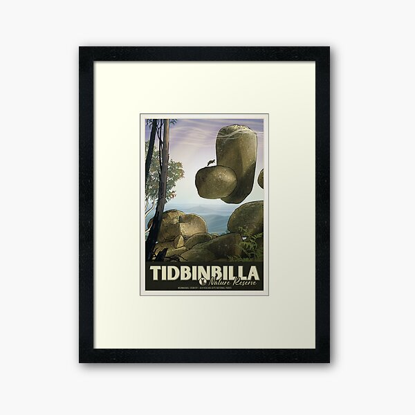Tidbinbilla Framed Art Print