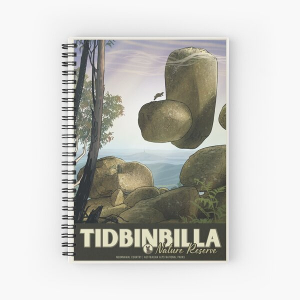 Tidbinbilla Spiral Notebook