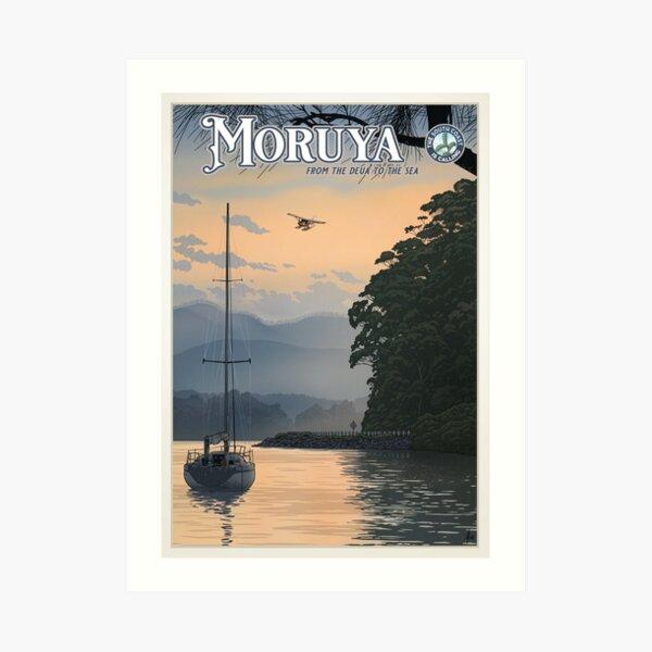 Moruya Art Print