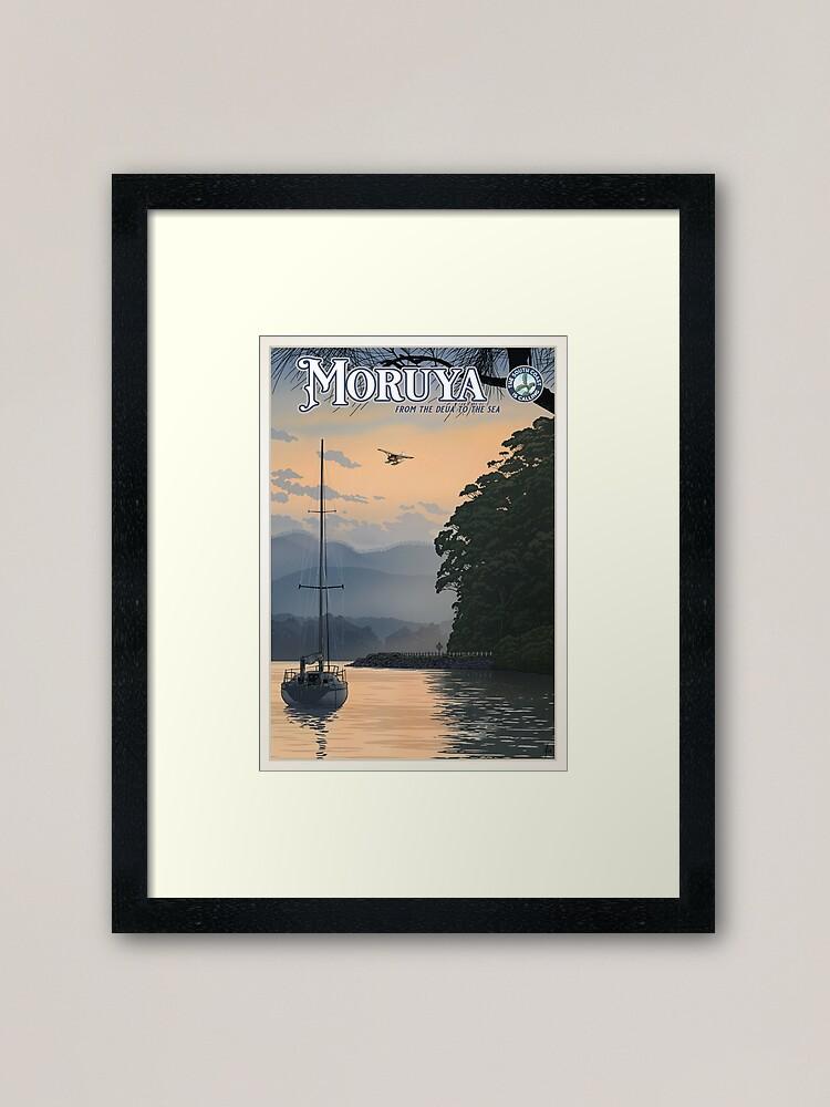 Alternate view of Moruya Framed Art Print