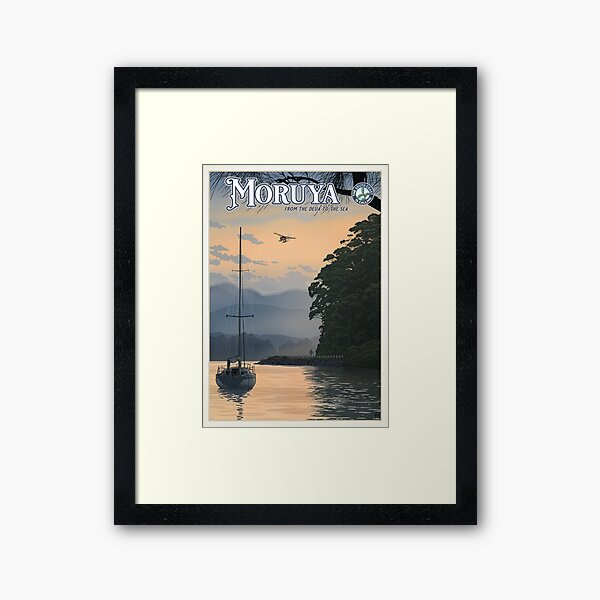 Moruya Framed Art Print