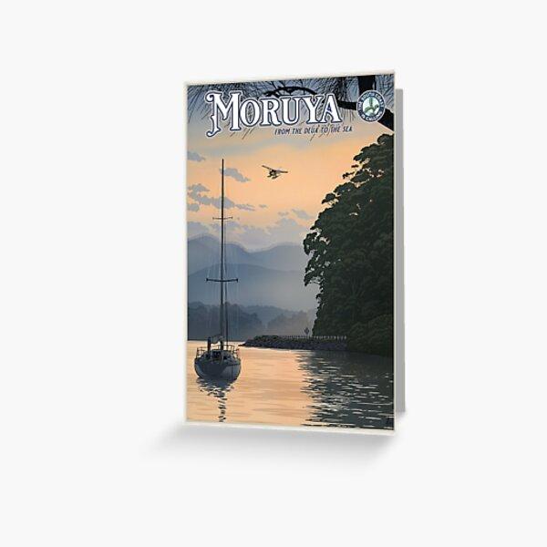 Moruya Greeting Card