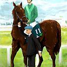 Horse Paint pt1 by Mark Padua