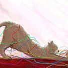 Cat Painting pt1 by Mark Padua