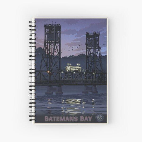 Batemans Bay Bridge Spiral Notebook