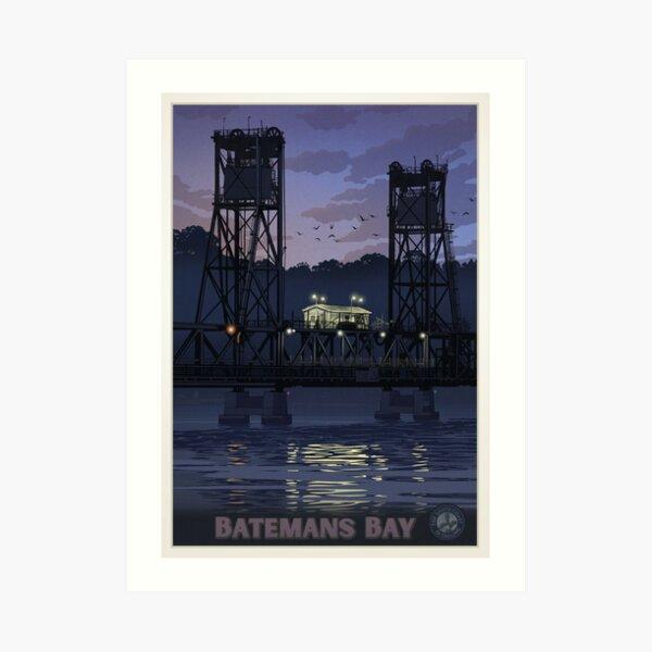 Batemans Bay Bridge Art Print