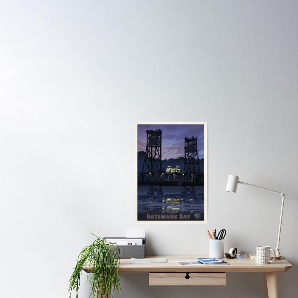 Batemans Bay Bridge Poster