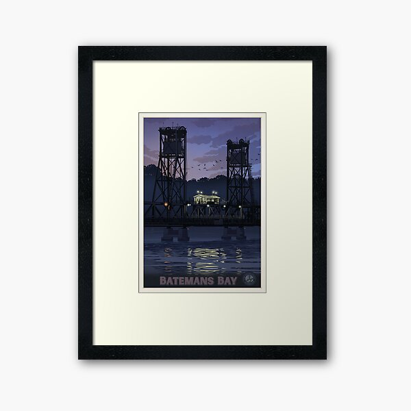Batemans Bay Bridge Framed Art Print