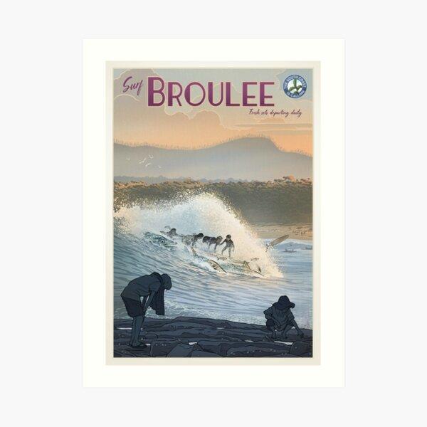 Broulee Art Print