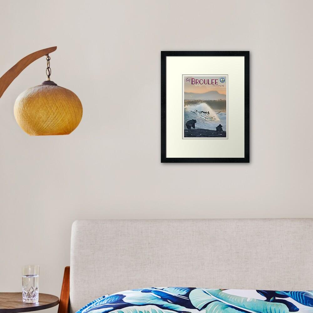 Broulee Framed Art Print