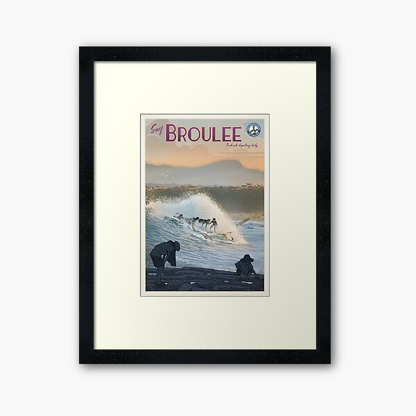 Broulee Framed Art Print