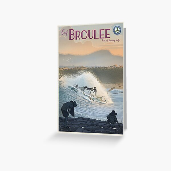 Broulee Greeting Card