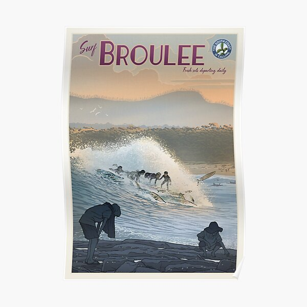 Broulee Poster