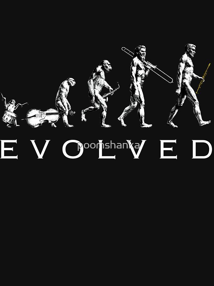Clarinet Evolution by poomshanka