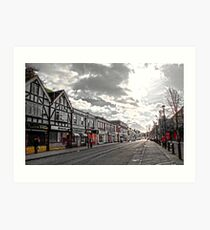 Birchington High Street.... Art Print
