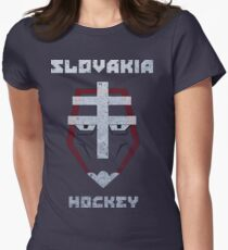 Slovakia Hockey Women's Fitted T-Shirt