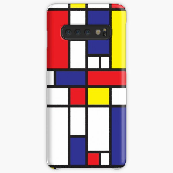 Mondrian Study I Samsung Galaxy Snap Case