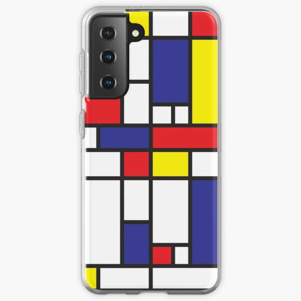 Mondrian Study I Samsung Galaxy Soft Case