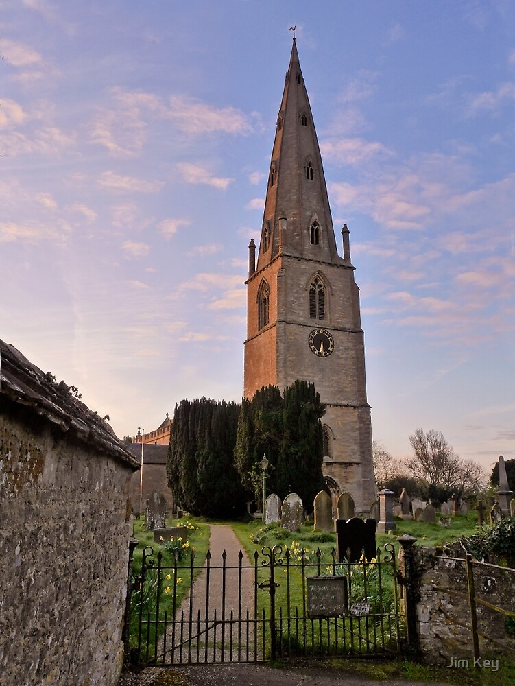 St Peter and St Paul Olney  by Jim Key