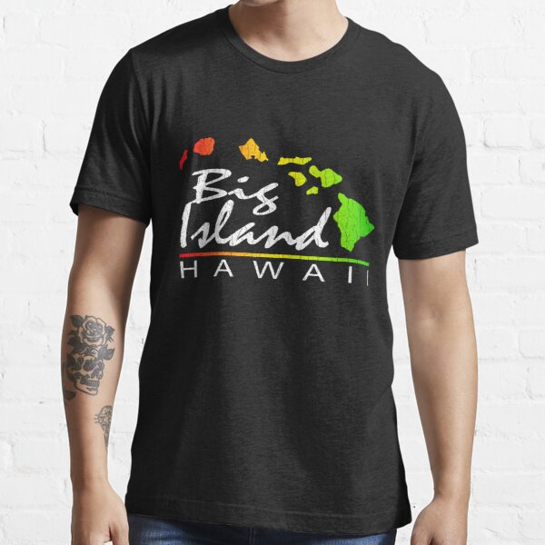 Big Island Hawaii (vintage distressed design) Essential T-Shirt