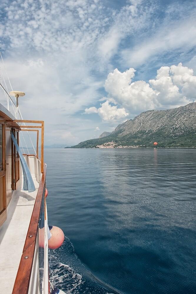 Cruising Up to Makarska by Kristin Repsher
