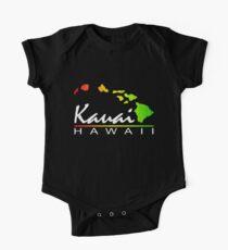 Kauai Hawaiian Islands (vintage distressed design) One Piece - Short Sleeve
