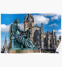 David Hume and St Giles Poster