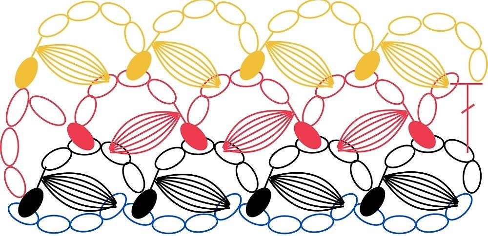coffee bean pattern by LemonLad