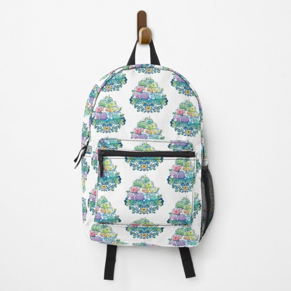 Blooming Piggy Pile  Backpack