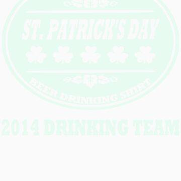 Official Saint Patricks Day Beer Drinking Shirt by xdurango