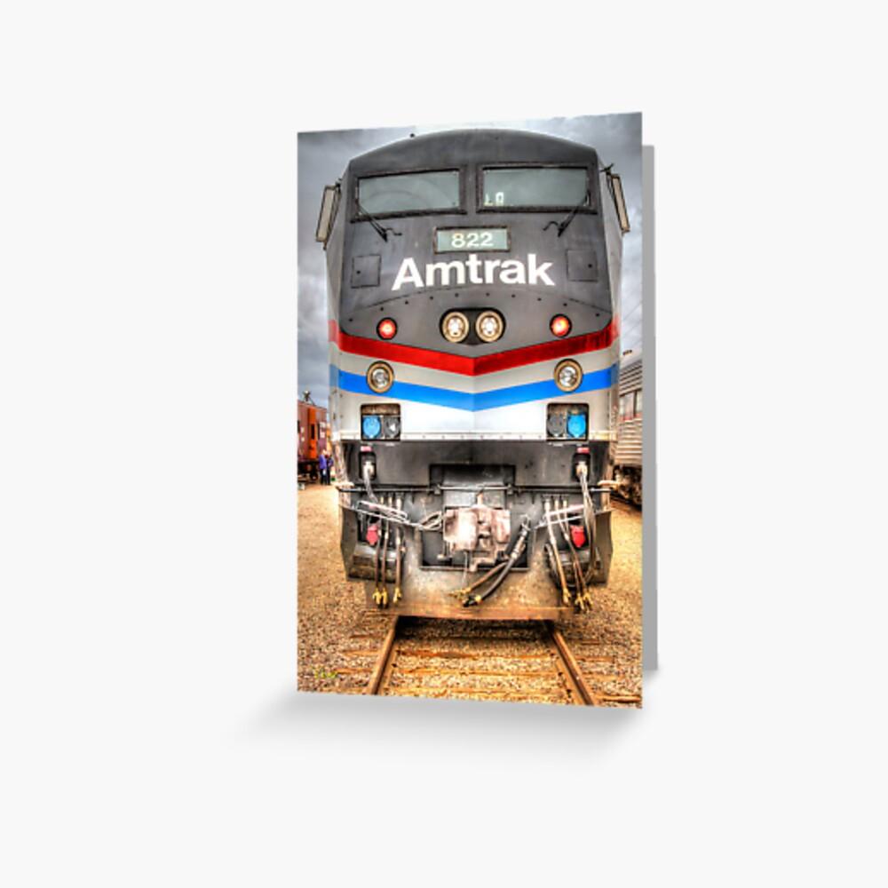 Amtrak Grußkarte