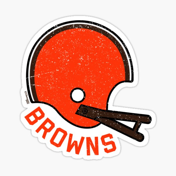 Cleveland Browns DamgoodGame Lid Graphic Sticker