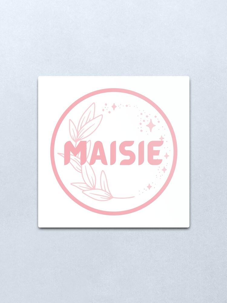 Alternate view of Maisie Metal Print