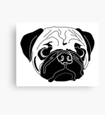 Pug Canvas Print