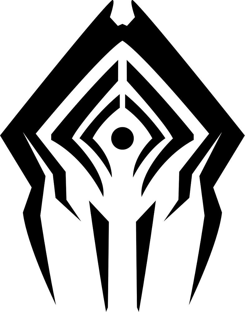 warframe stalker logo by LemonLad