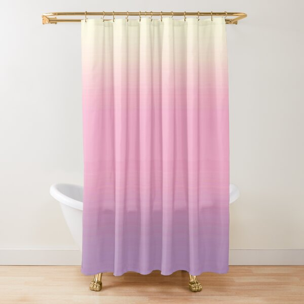 Pastel Gradient Shower Curtain
