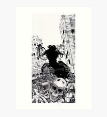 Aftermath and the Dead City Art Print